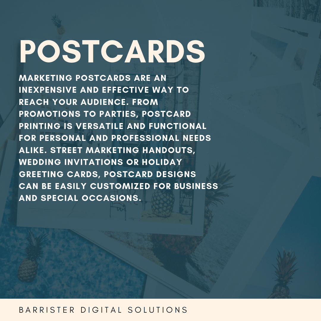 Postcards Digital Printing DC | Barrister Digital Solutions | Digital Printing Services | 1700 K Street, NW Suite B-100 Washington, DC 20006, USA | 202-289-7279 | https://barristerdigital.com/